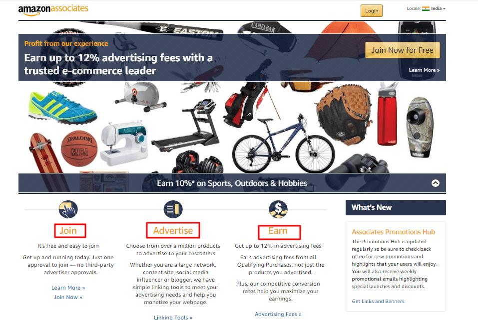 affiliate marketing-amazon