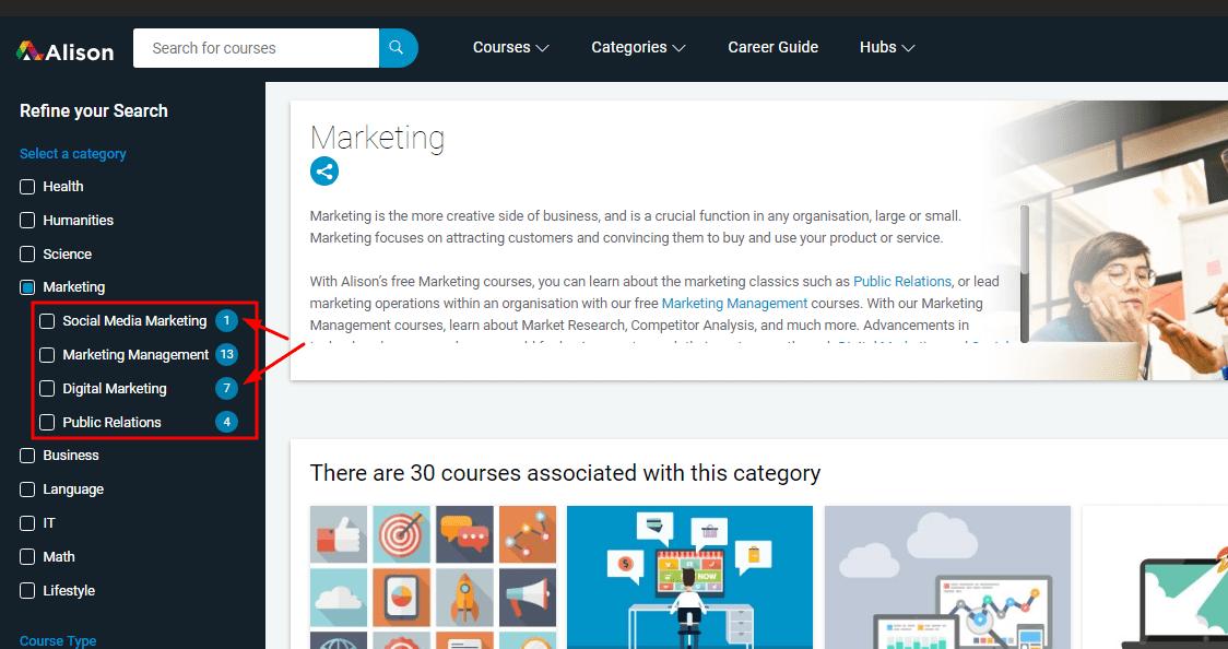 alison-digital marketing-course